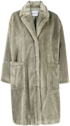 Stand Studio Reyna faux-fur coat