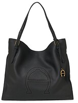 Thumbnail for your product : Etienne Aigner Leather Tote