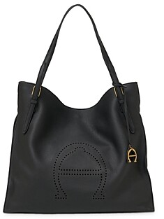 Etienne Aigner Leather Tote