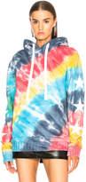 Amiri Rainbow Star Pullover Hoodie