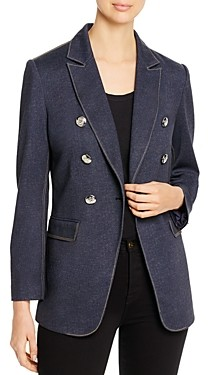 T Tahari Double-Breasted Blazer