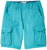 Little Marc Jacobs Shorts With Patch Pockets (Toddler) - Blue Ocean-3A