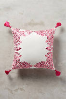 Anthropologie Embroidered Noella Pillow