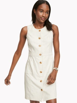 Tommy Hilfiger Essential Sleeveless Stripe Dress
