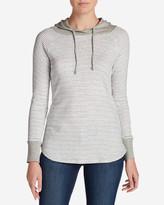 Eddie Bauer Women's Favorite Pullover Hoodie - Stripe