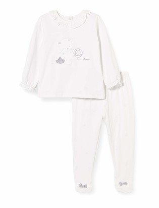Chicco Baby Girls' Completo Bimba 2 Pezzi: T-Shirt Coprifasce + Ghettina Playsuit