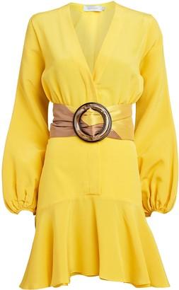 Silvia Tcherassi Filis Silk Crepe Mini Dress