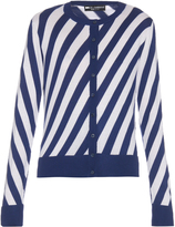 Dolce & Gabbana Diagonal-striped cardigan