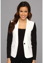 MICHAEL Michael Kors Contrast Sleeve Jacket