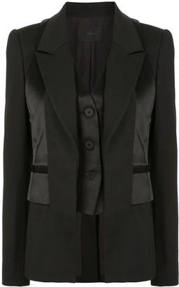 Dion Lee Tuxedo Vest Blazer
