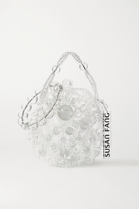 Susan Fang Bubble Beaded Tote - Clear