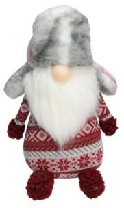 Northlight Nordic Gnome Fur Trapper Hat Christmas Decoration