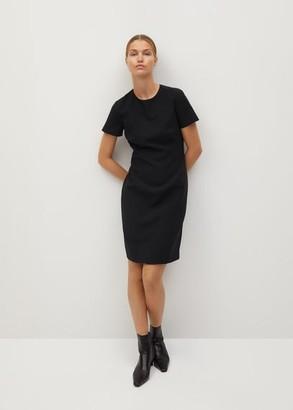 MANGO Tailored short dress black - 2 - Women