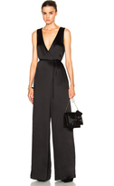 Rosetta Getty Wrap Jumpsuit