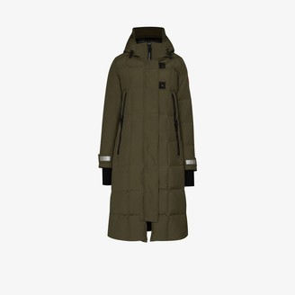 Canada Goose Elmwood long padded parka coat