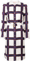 Tory Burch checked shirt dress