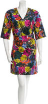 Dries Van Noten Printed Shift Dress