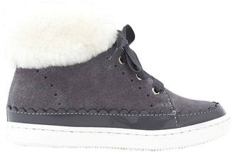Jacadi Paris Suede High Top Sneaker
