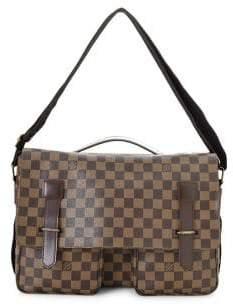 Louis Vuitton Vintage Damier Ebene Broadway Canvas Messenger Bag