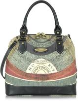 Gattinoni Planetarium Medium Top Zip Bolwer Bag