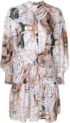 Ginger & Smart Abstract-Print Shirt Dress