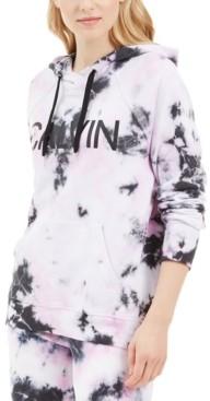 Calvin Klein Tie-Dyed Logo Hoodie