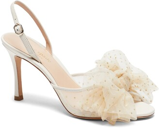 Kate Spade Bridal Sparkle Slingback Sandal
