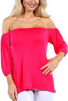 24/7 Comfort Apparel Sweetheart Tunic Top