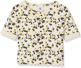 Petit Bateau Girl's T Shirtmc Coq/Mu12A T-Shirt,(Manufacturer Size:12A 12Ans)