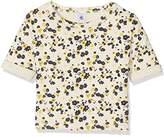 Petit Bateau Girl's T Shirtmc Coq/Mu12A T-Shirt