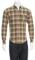 Band Of Outsiders Checkered Print Button-Up Shirt