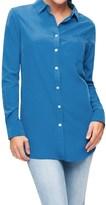 Foxcroft Solid Modal Tunic Shirt - Long Sleeve (For Women)