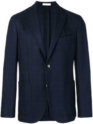 Boglioli checked blazer jacket