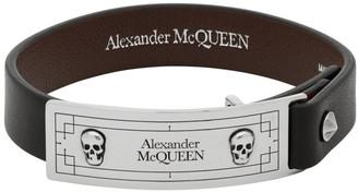 Alexander McQueen Black Identity Bracelet
