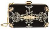 Elie Saab Embellished Velvet Clutch