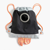 J.Crew Kids' drawstring rocket ship bag