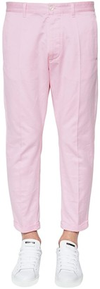 DSQUARED2 16.5cm Hockney Cotton Satin Pants