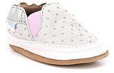 Robeez Baby Girls Newborn-24 Months Dotted Soft-Sole Shoes