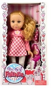 "Group Sales 18"" My Best Friend Blonde Doll Dressed in Leggings"