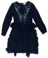 Megan Park Silk Embellished Dress w/ Tags