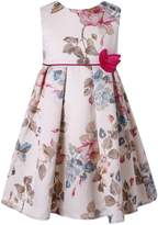Richie House Girls' Sweet flower dress RH2218-A