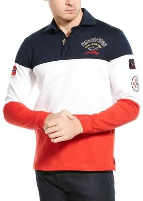 Paul & Shark Colorblock Polo Shirt