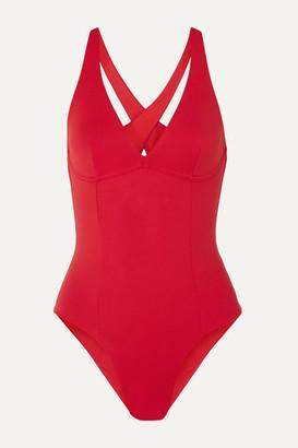 Skin The Devon Cutout Swimsuit - Red