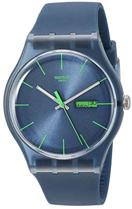 Swatch Blue Rebel - SUON700 (Blue) Watches