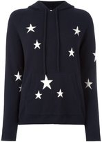 Chinti and Parker star intarsia hooded sweater - women - Cashmere - S