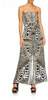 Camilla Strapless Leopard Jumpsuit