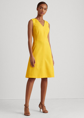 Ralph Lauren Sleeveless V-Neck Dress
