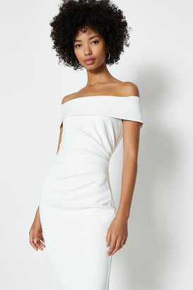 Coast Bardot Side Ruched Dress