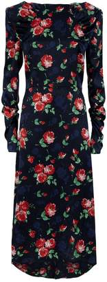 Magda Butrym Crotone Floral Print Dress