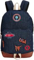 Steve Madden Patchwork Classic Denim Backpack